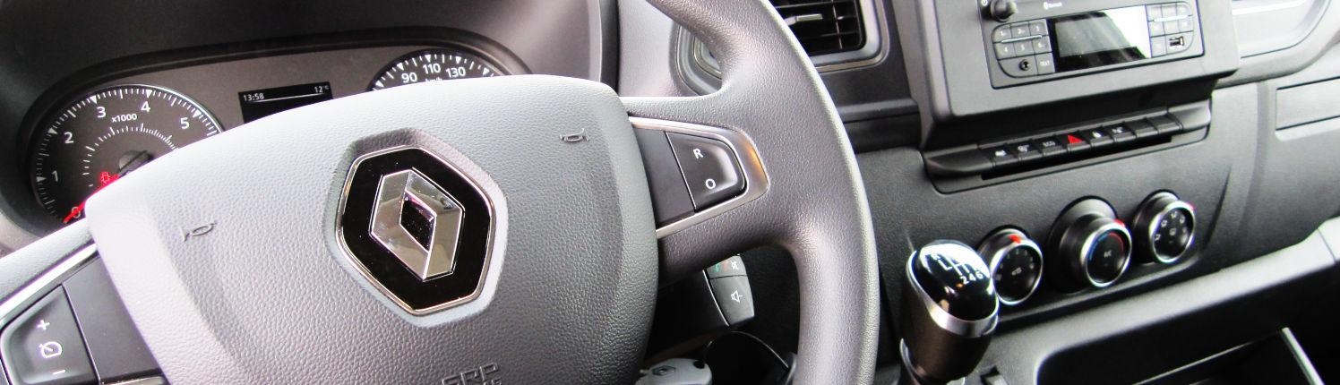 Renault Master Cockpit